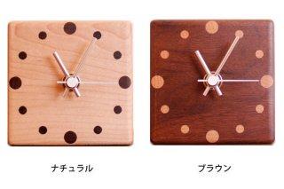 【ヤマト工芸】置き時計MUKUMARU-tableclock-(ナチュラル)・YK15-003NA
