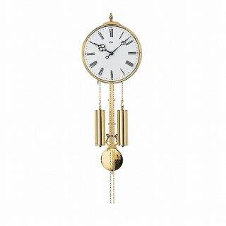 【AMS】掛け時計 (ゴールド)・AMS348