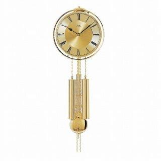 【AMS】掛け時計 (ゴールド)・AMS356