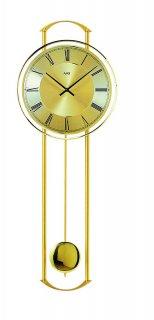 【AMS】掛け時計 (ゴールド)・AMS7083