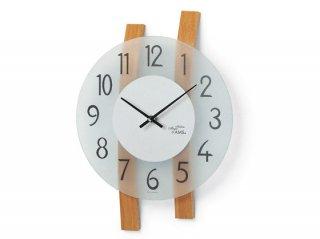 【AMS】掛け時計 (ブラウン)・AMS9203