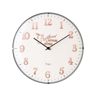【インターフォルム】電波掛け時計 Bouliac [ ブリアック ](アイボリー)・CL-1374IV