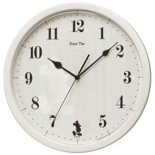 【SEIKO】大人ディズニー 掛け時計 ミッキー&フレンズ(アイボリー塗装)・FW577A