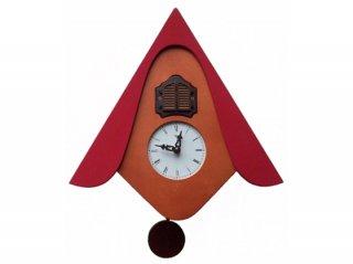 【ピロンディーニ(Pirondini)】鳩時計 カッコウW(レッド)・PR-105RD