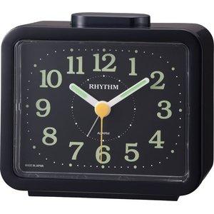【RHYTHM】目覚まし時計その他特長商品ジャプレSR859(黒(黒))・4RA859SR02