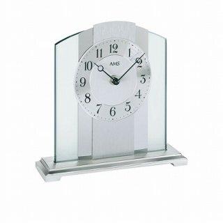 【AMS】置き時計 (シルバー)・AMS1120