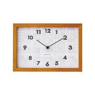 【インターフォルム】置き掛け両用時計 Blangy [ ブランジー ](ホワイト)・CL-1381WH