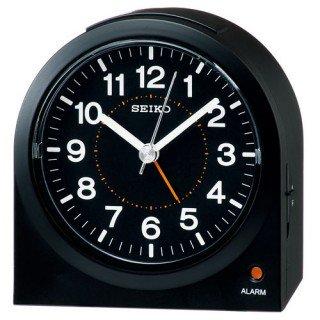 【SEIKO】目覚まし時計 スタンダード(黒塗装)・KR894K
