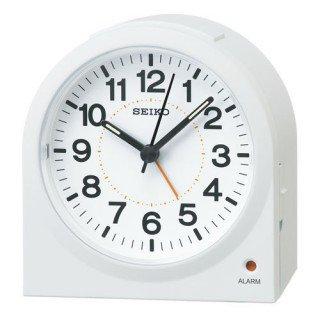 【SEIKO】目覚まし時計 スタンダード(白塗装)・KR894W