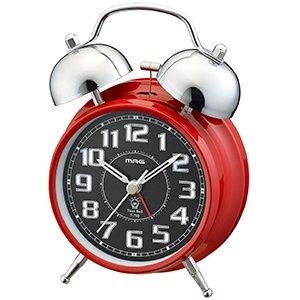 【MAG】目覚まし時計 ベル音目覚まし時計 ベルズインパクト(レッド)・T-700R-Z