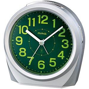 【MAG】置き時計 スタンダード スイッチーズNEO(銀メタリック)・T-701SM-Z
