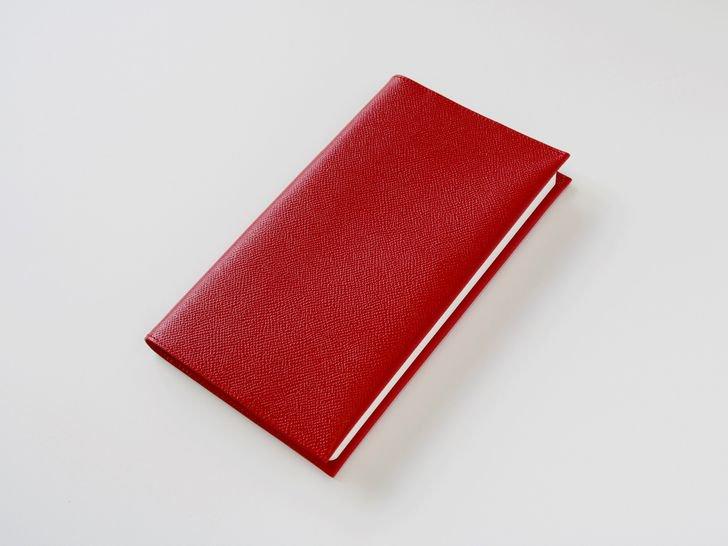 OUDE ノート革カバー|style用|ノブレッサ・レッド