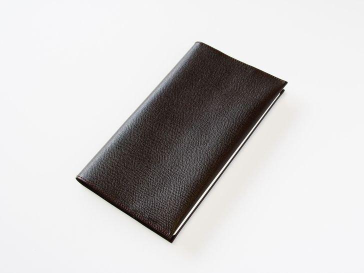 OUDE ノート革カバー|style用|ノブレッサ・チョコ