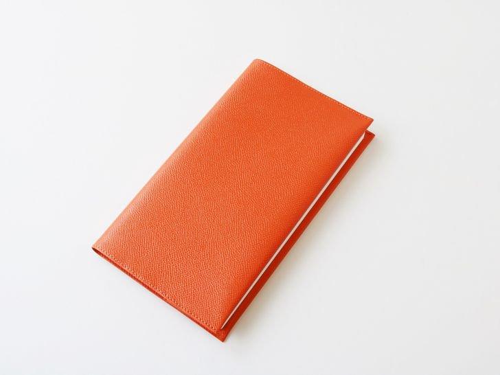 OUDE ノート革カバー|style用|ノブレッサ・オレンジ
