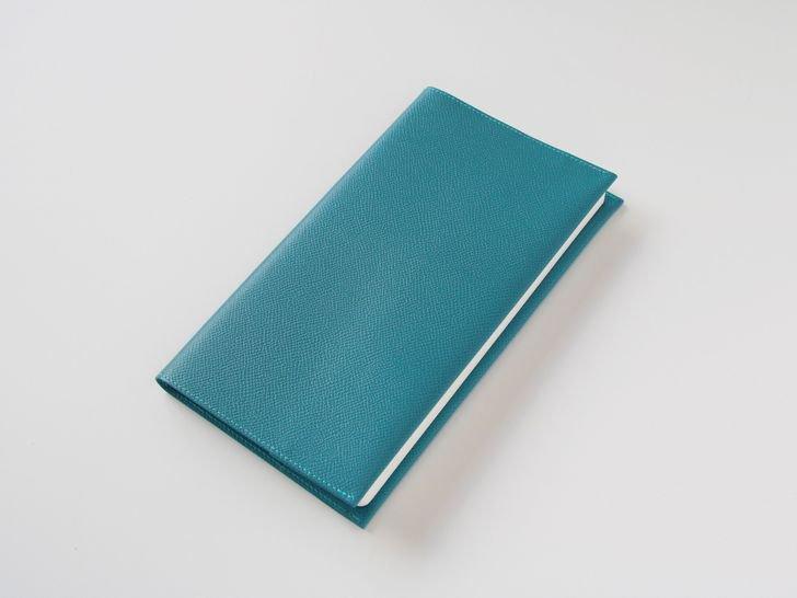 OUDE ノート革カバー|style用|ノブレッサ・ジーンブルー