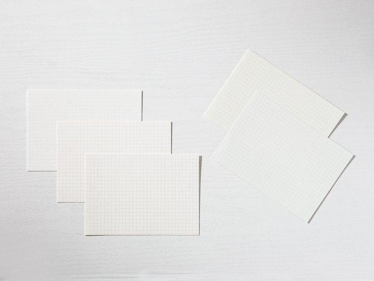神戸派カード A6(20枚入り)|方眼