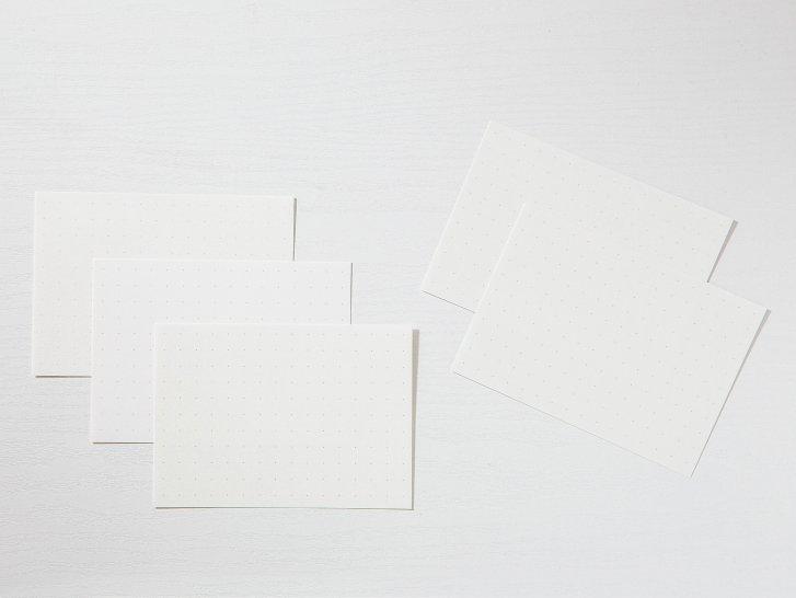 神戸派カード A6(20枚)|ドット方眼