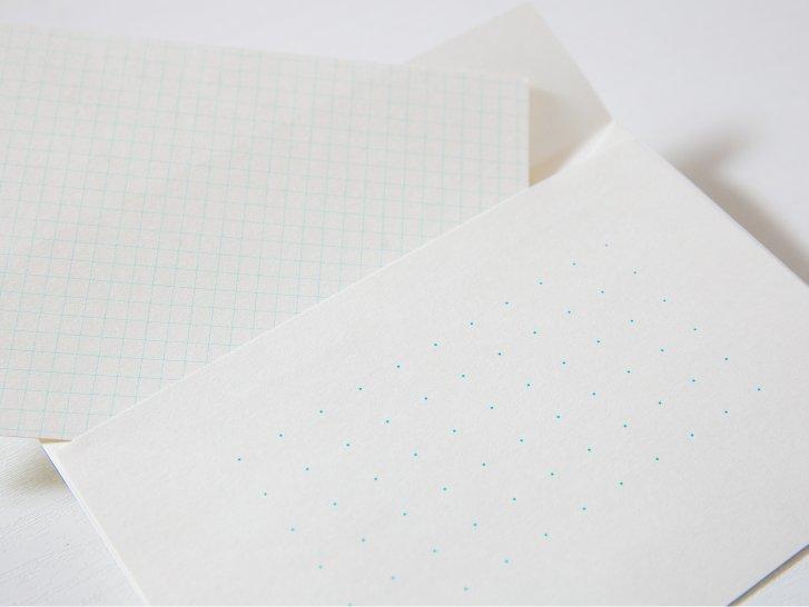 神戸派封筒 洋2(5枚)|ドット方眼