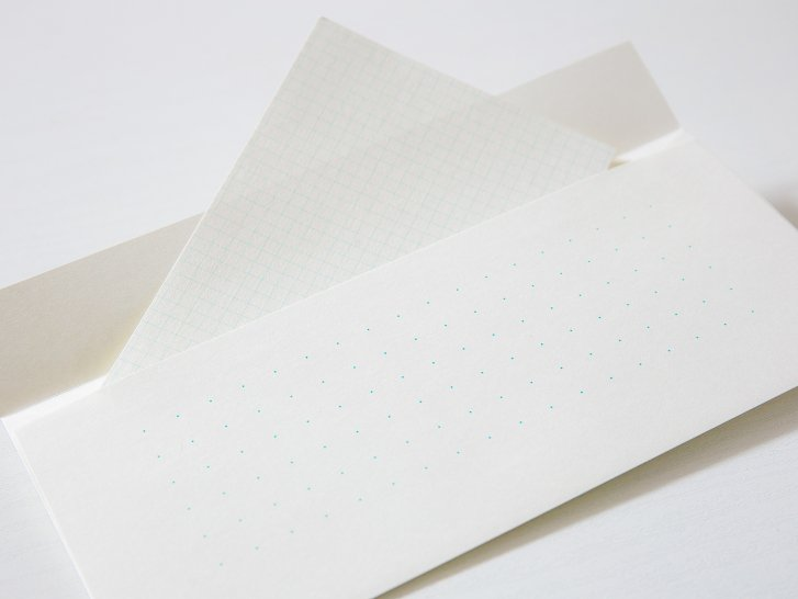 神戸派封筒 洋4(5枚入り)|ドット方眼