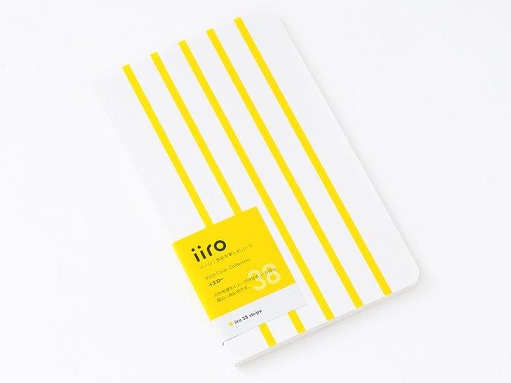 iiro 38 stripe|イエロー