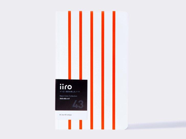 iiro 43 stripe|ネオンオレンジ