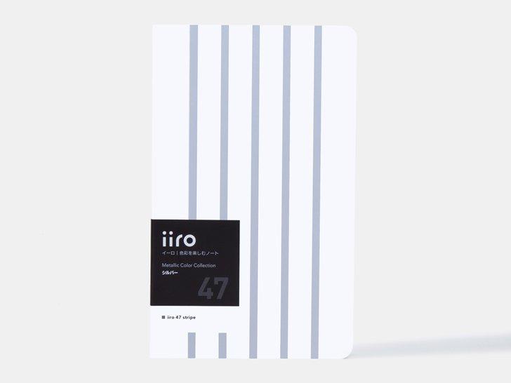 iiro 47 stripe|シルバー