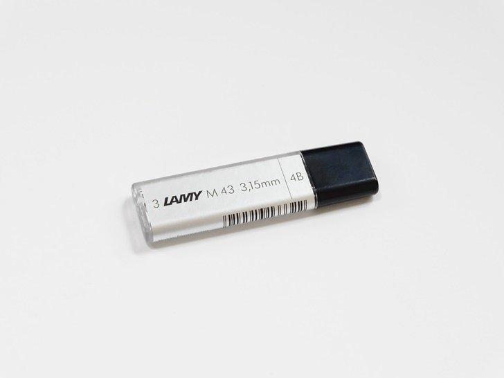 ラミー|スクリブル用ペンシル替芯|4B(3.15mm)3本入り