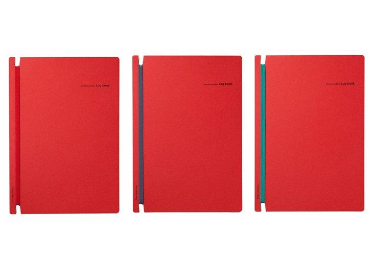 Log book(ログ ブック)|赤