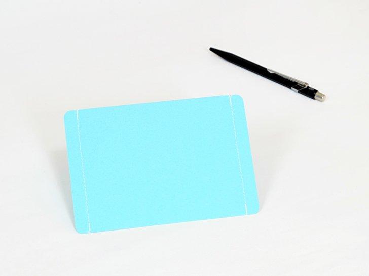nuino(ヌイーノ)02〈青〉|A7サイズ封筒3枚