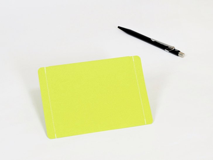 nuino(ヌイーノ)03〈緑〉|A7サイズ封筒3枚
