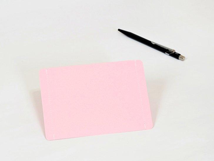 nuino(ヌイーノ)A7封筒(3枚)|05〈桃〉