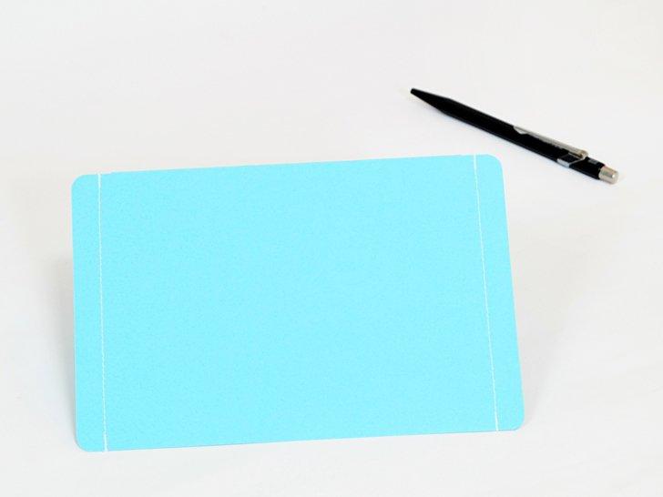 nuino(ヌイーノ)A6封筒(3枚)|02〈青〉