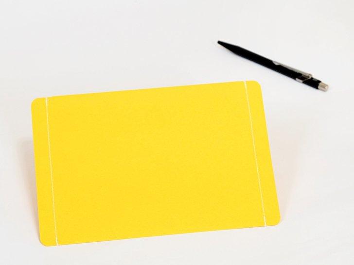 nuino(ヌイーノ)A6封筒(3枚)|04〈黄〉