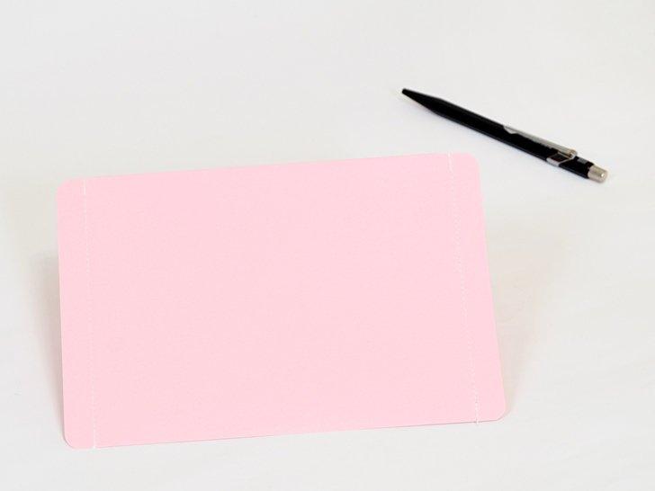 nuino(ヌイーノ)A6封筒(3枚)|05〈桃〉