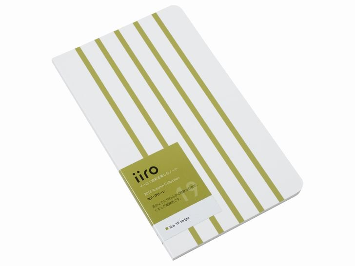 iiro 19 stripe|モス・グリーン