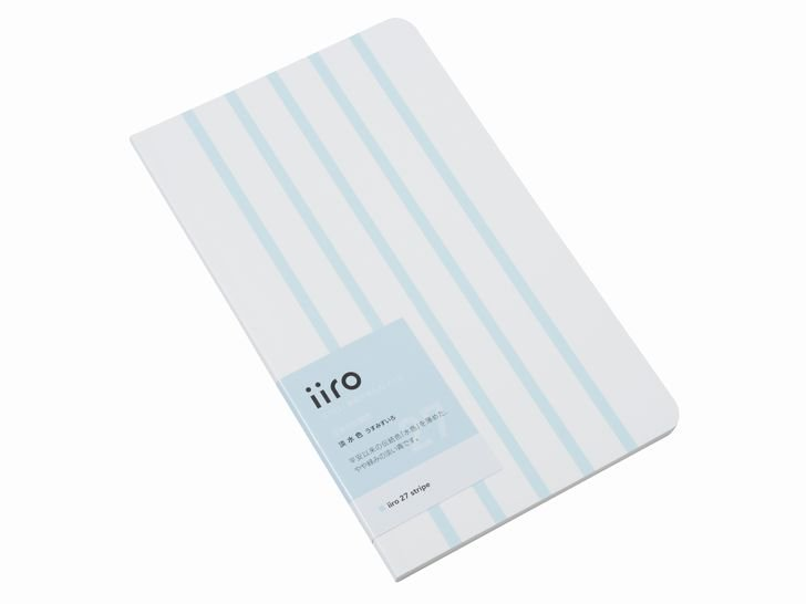 iiro 27  stripe|淡水色(うすみずいろ)