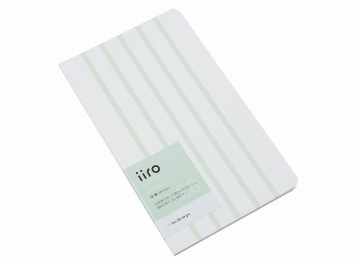 iiro 28 stripe|白緑(びゃくろく)