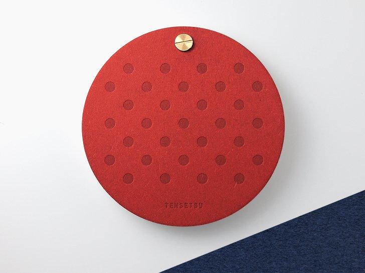 点綴(てんせつ) maru(赤×紺)