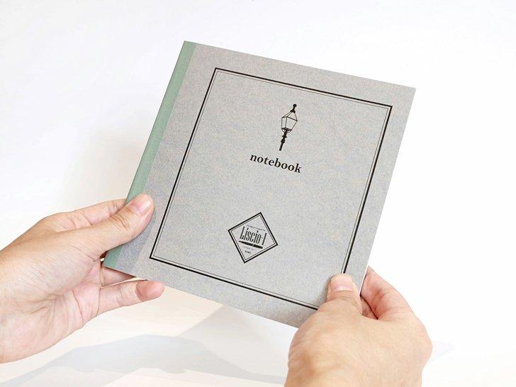 Liscio-1(リスシオ・ワン)|正方形ノート(5mm方眼)