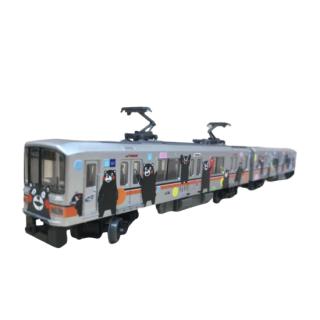 鉄コレ くまモンのラッピング電車2号車