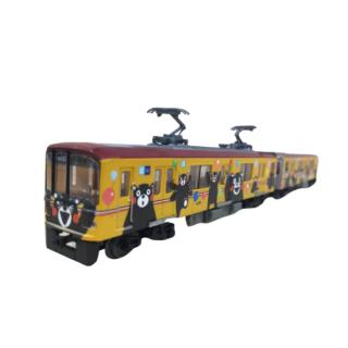 鉄コレ くまモンのラッピング電車3号車