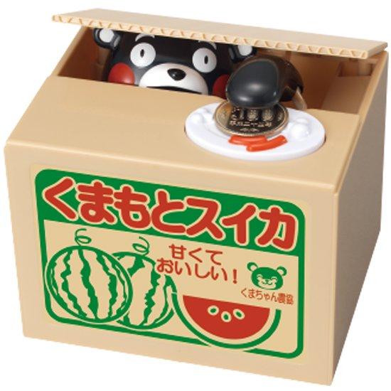 くまモンの貯金箱