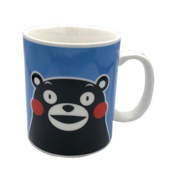 くまモンのマグカップ(青)