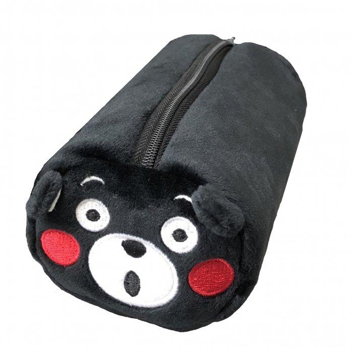 くまモンの円筒ペンケース(おどろき)