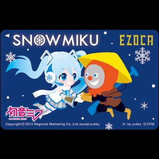 雪ミクEZOCA【4月ご注文分→5月10日までに発送】