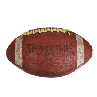 SPALDING American football USED BALL