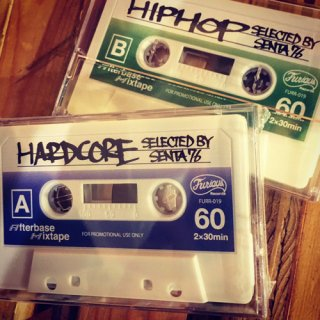 HARDCORE/HIPHOP MIX CASSETTETAPE-SELECTED BY SENTA76