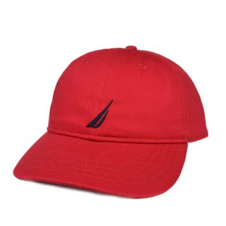 NAUTICA 6PANEL CAP(RED)