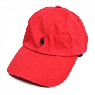 [RALPH LAUREN] POLO 6 PANEL CAP (RED)