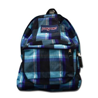 <img class='new_mark_img1' src='//img.shop-pro.jp/img/new/icons20.gif' style='border:none;display:inline;margin:0px;padding:0px;width:auto;' />JANSPORT CHECK BACKPACK (USED)